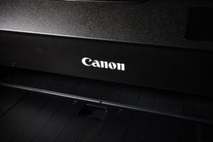 A Canon Home Printer & Scanner Machine