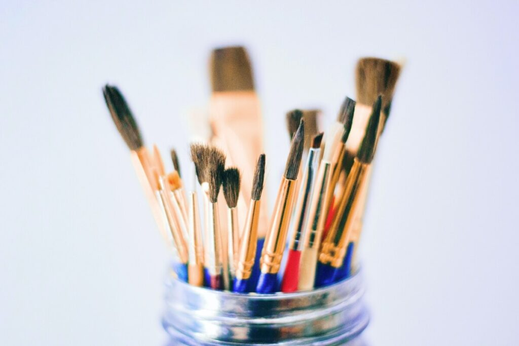 cleaning your images with soft brush products