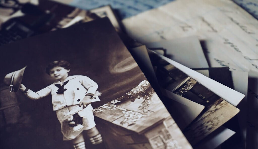 a stack of picture restoration